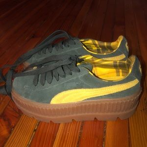 Puma x fenty cleated creeper sneakers
